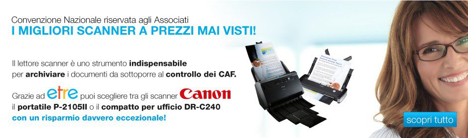 Convenzione Scanner Canon Etre CAF TFdC b