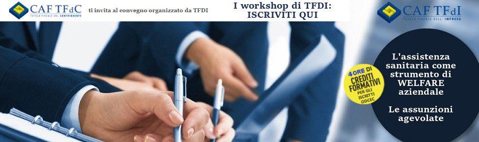 I Workshop di TFDI
