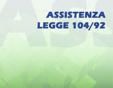 ASSISTENZA LEGGE 104/92